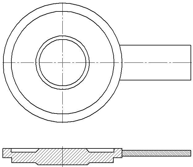 заглушки с рукояткой   по Т-ММ-25-01-06